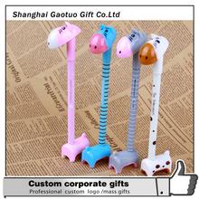 Promotional custom novelty giraffe ball pen