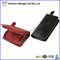 2014 New Design Promotion Pretty leather waterproof key case