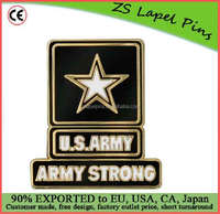 Custom top quality novelty gift Army Strong Lapel Pin