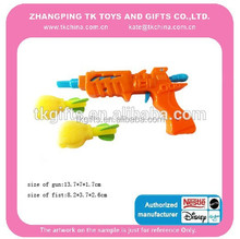 plastic toy gun shooter foam fist funny