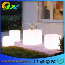 Romantic Waterproof Led Ice Cube furniture Led Cube Table