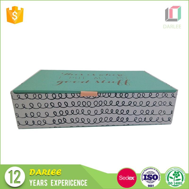 luxury grey cardboard packaging