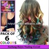 hair chalk for dip dye remy hair weave