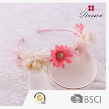 Hot Sales Various Colors & Designs Available Girl Flower Crochet Headbands With Big Flowers