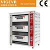 3 layers 6 trays pizza oven/bakery gas deck oven industrial oven WG-H-60Q