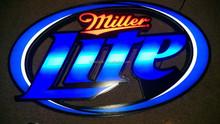 MILLER LITE LED BAR SIGN