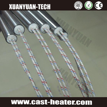 cartridge heaters for heating and melting alkali