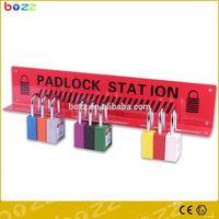 padlock station safety lockout station with door lockout kit/ station