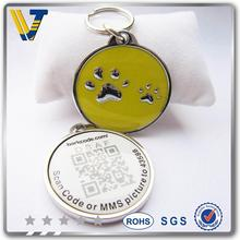 SGS tested disabled handler with service dog id tag