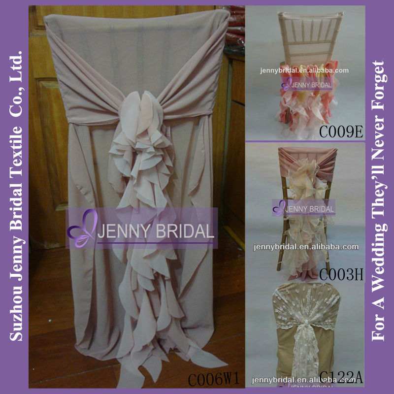 how to make cheap wedding chair covers