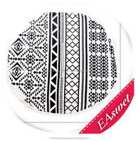 EAswet: China supplier popular round beach towel with tassels, summer style popular beach towel