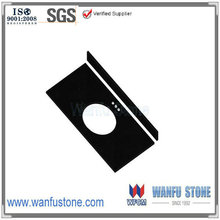 Chinese granite stones countertop for sale/shanxi black granite stone for tops/kitchen countertop with shanxi black