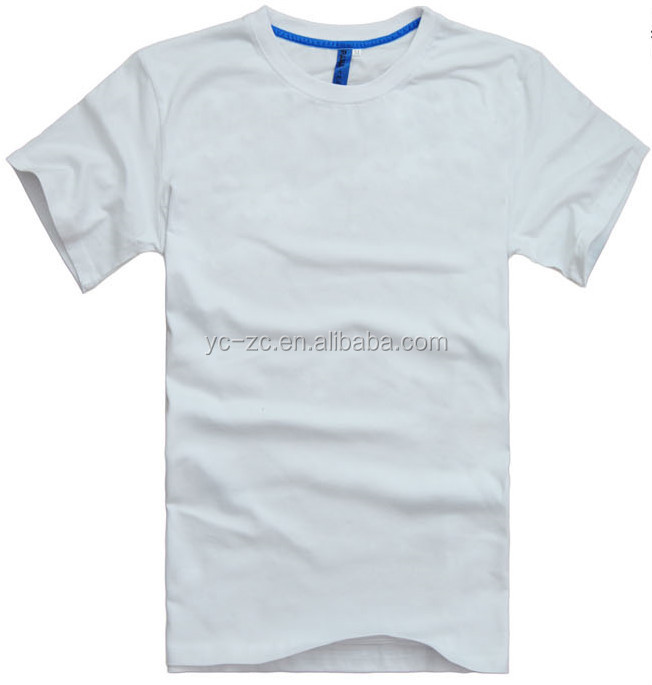 2015 cheap bulk plain t shirt wide neck men oem custom for Cheap promo t shirts