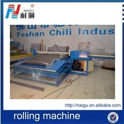 semi-automatic high efficiency menory foam mattress wrapping machine
