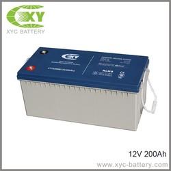 VRLA Battery 12V200AH for solar system /VRLA Battery