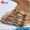 2015 ali express 18 clips remy comfortable human double drawn remy hair extensions clip in