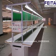 la producción industrial de la línea de línea de montaje del transportador del sistema