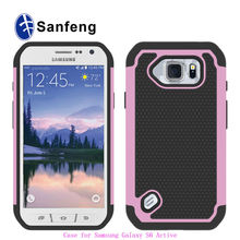 Factory Price Rubberized Rugged Protective Covers Cases For Galaxy S6 Active