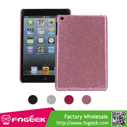 High Quality Shinning for iPad Mini Glitter Powder Mesh Coated Hard Case