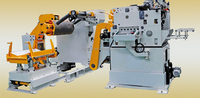 NC servo feeding straightening and uncoiling automatic production line