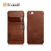 Luxury Genuine Leather For Apple iPhone 6 Case With Card Slot