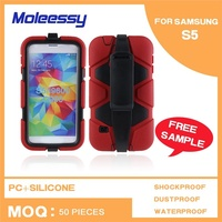 New arrival heavy duty shockproof waterproof phone case for Samsung Galaxy S5