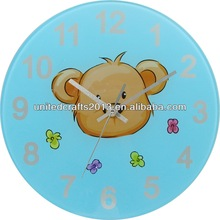small size plastic 2014 clock gifts wholesale