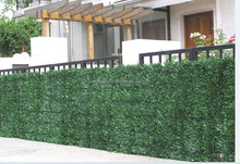 artificial Hedge Plastic Conifer Screening Fence