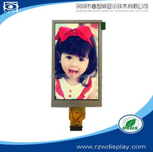 4:3 3.5 inch 320x240 TFT LCD Displays Module with Contrast Ration 500:1