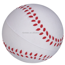 soft toy shape baseball/stress baseball shape toy/toy foam baseball