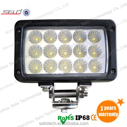High Power Off Road 6.2'' 45W Rectangular LED Work Light For Car HD43045FX