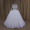 Latest beading ball gown ball gown wedding dress 2014 vestido de noiva