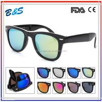 promotional Foldable wayfarer sunglasses