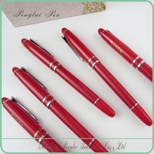 2015 fashion promotional noverlty Fashion design half streamlined metal pen