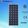 Hefei Bluesun superb swimming pool solar panels Mono 100W with tuv ce