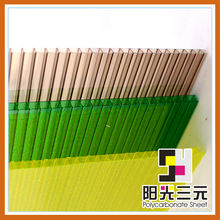 Clear roofing panels;Polycarbonate sheet with plastic raw material