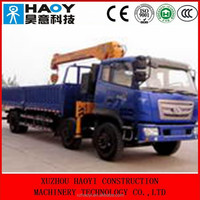 T-KING6*2 middle-size derrick cargo truck,truck mounted crane for saleZB5220
