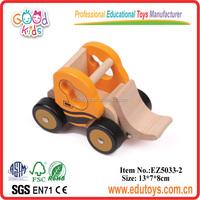 Educational Wooden Miniature Truck Block Toys- Kids Wooden Truck Cart Loader