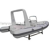 RIB /rigid inflatable boat/pvc materials
