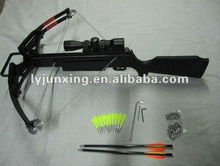 NEW product M38-6black high accuracy medium hunting crossbow for sale, bolts