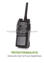 Hyt Intrinsically Safe Full Power DMR Two Way Interphone PD70X/PD70XG(UL913)