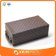 Popular cardboard packaging wine box company