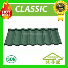 building material in china sand coated metal roofing tile