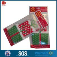 Walmart christmas designs cute candy bag christmas shape bag for candy