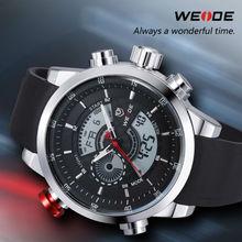 de lujo weide diseño fashinable y relojes para hombre con 30 metros a prueba de agua reloj pulseras
