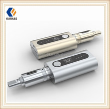 Hottest selling new 50 watt box mod e cigarette Karass iCoopa S1 fit with 2pcs 18650 battery