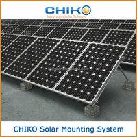 Solar ground installation