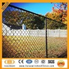Hot dipped galvanized and vinyl coated chain link fencing mesh
