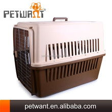 plastic pet kennel for dogs airline travel