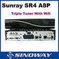 Lager Sunray sr4 a8p sim-karte v1/v2 triple tuner rev d11 motherboard sunray4 800se sim a8p heißer verkauf in italien